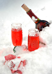 wine-in-snow